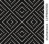 vector geometric traditional... | Shutterstock .eps vector #1199840500