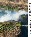 the victoria falls is the...   Shutterstock . vector #1199852629