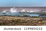 the victoria falls is the...   Shutterstock . vector #1199854213