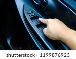 closeup shot of male driver... | Shutterstock . vector #1199876923