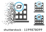 dash corporation building icon... | Shutterstock .eps vector #1199878099