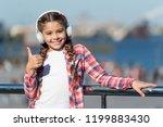 happy girl with good mood.... | Shutterstock . vector #1199883430