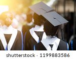 group of  graduates during... | Shutterstock . vector #1199883586