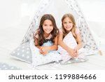 sisters or best friends spend... | Shutterstock . vector #1199884666
