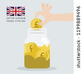 save your united kingdom... | Shutterstock .eps vector #1199889496