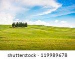 Scenic Tuscany Landscape In Va...