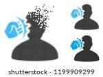 head strike icon in... | Shutterstock .eps vector #1199909299
