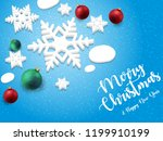 merry christmas and happy new...   Shutterstock .eps vector #1199910199