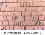 cracked siding. background of... | Shutterstock . vector #1199920543