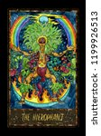 hierophant. major arcana tarot... | Shutterstock . vector #1199926513