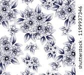 abstract elegance seamless... | Shutterstock .eps vector #1199937346