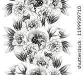 abstract elegance seamless... | Shutterstock . vector #1199939710