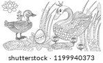 coloring pages. coloring book...   Shutterstock .eps vector #1199940373