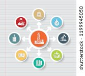 industrial and energy icon info ... | Shutterstock .eps vector #1199945050