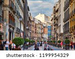 granada  spain 18 october  2017 ... | Shutterstock . vector #1199954329