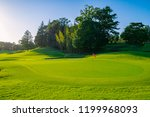 panorama view of golf course... | Shutterstock . vector #1199968093