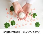 cosmetic nature skincare and... | Shutterstock . vector #1199975590