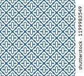 oriental traditional pattern.... | Shutterstock .eps vector #1199983549