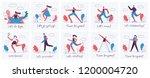 vector illustrations of healthy ...   Shutterstock .eps vector #1200004720