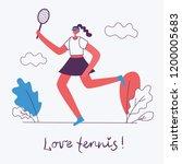 vector illustration of healthy... | Shutterstock .eps vector #1200005683