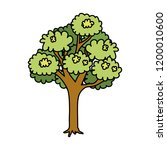tree plant isolated icon   Shutterstock .eps vector #1200010600