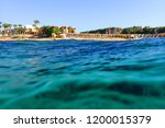 beach in the egypt as very nice ... | Shutterstock . vector #1200015379