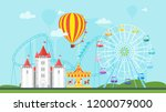 vector flat style illustration... | Shutterstock .eps vector #1200079000