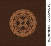 crossed bandage plaster icon... | Shutterstock .eps vector #1200090250