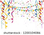festive party background of... | Shutterstock .eps vector #1200104086