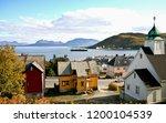 Harstad city in Norway