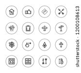 right icon set. collection of... | Shutterstock .eps vector #1200108613