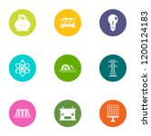 energy is important icons set.... | Shutterstock .eps vector #1200124183