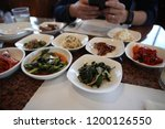 various and delicious korean... | Shutterstock . vector #1200126550