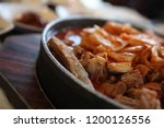various and delicious korean... | Shutterstock . vector #1200126556