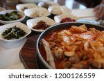 various and delicious korean... | Shutterstock . vector #1200126559