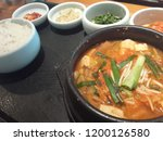 various and delicious korean... | Shutterstock . vector #1200126580