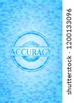 accuracy sky blue emblem with... | Shutterstock .eps vector #1200133096