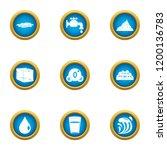 reviver icons set. flat set of... | Shutterstock .eps vector #1200136783