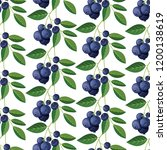 seamless pattern with... | Shutterstock .eps vector #1200138619