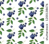 seamless pattern with... | Shutterstock .eps vector #1200138676