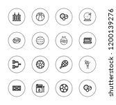 match icon set. collection of... | Shutterstock .eps vector #1200139276
