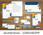corporate identity business ... | Shutterstock .eps vector #1200140299