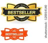 bestseller. vector illustration. | Shutterstock .eps vector #120014140