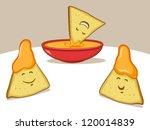 nachos cartoon | Shutterstock .eps vector #120014839