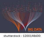 big data statistical analysis... | Shutterstock .eps vector #1200148600