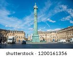 place de la concorde with... | Shutterstock . vector #1200161356