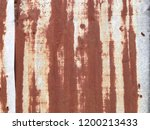 grunge texture of old rusty... | Shutterstock . vector #1200213433