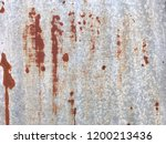 grunge texture of old rusty... | Shutterstock . vector #1200213436