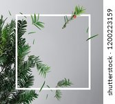 creative layout made with... | Shutterstock . vector #1200223159