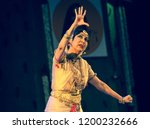 legendary senior bharatnatyam... | Shutterstock . vector #1200232666